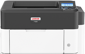 lanier P 801 Black and White Laser Printer