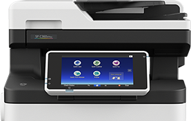 SP C360SFNw Color LED Multifunction Printer