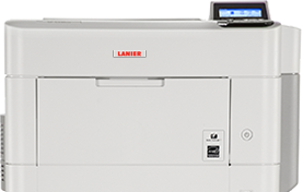lanier SP 5300DN Black and White Laser Printer