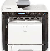 lanier SP 325SFNw Black and White Laser Multifunction Printer