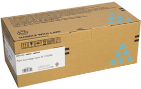 lanier Cyan Print Cartridge  AIOSP C252HA - 407654