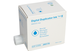 lanier Type II Blue Digital Duplicator Ink - 893175