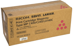 lanier Type MP C400/C240/LD140C Magenta Print Cartridge - 841726