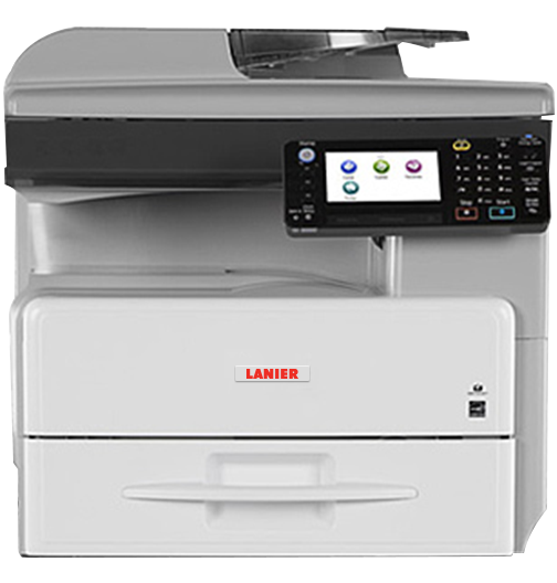 lanier MP 301SPF Black and White Laser Multifunction Printer
