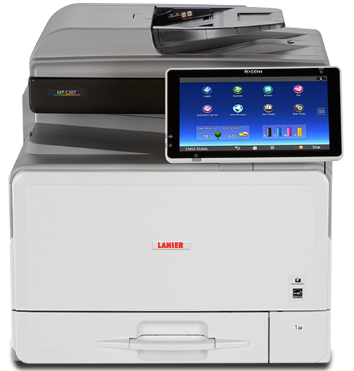 lanier MP C307 Color Laser Multifunction Printer