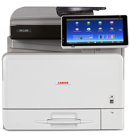 lanier MP C406 Color Laser Multifunction Printer