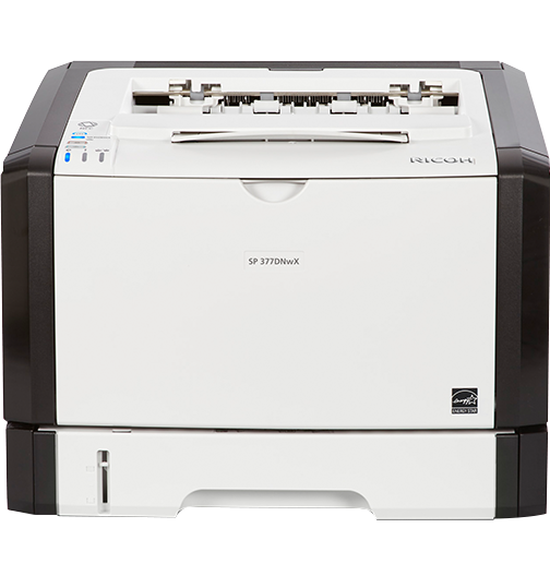 lanier SP 377DNwX Black and White Laser Printer