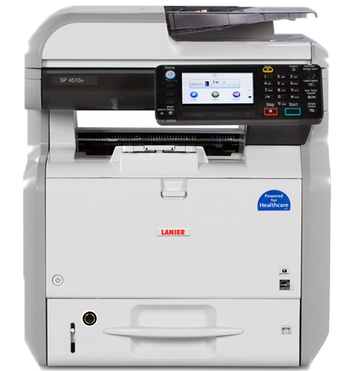 lanier SP 4510SFTE Black and White Multifunction Printer