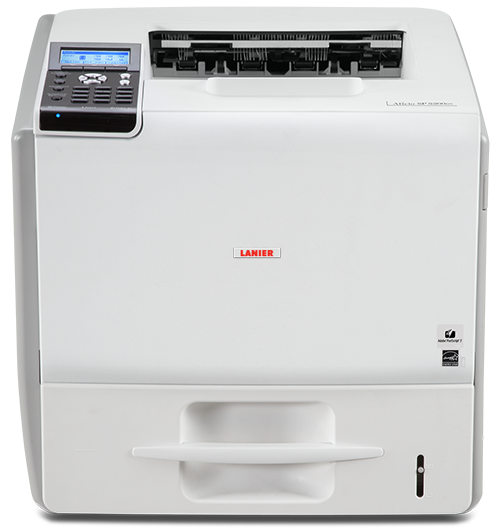 lanier SP 5200DN Black and White Laser Printer