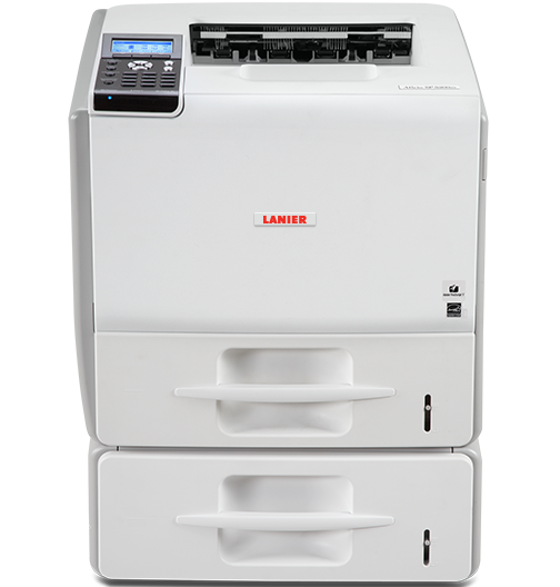 lanier SP 5210DN Black and White Laser Printer
