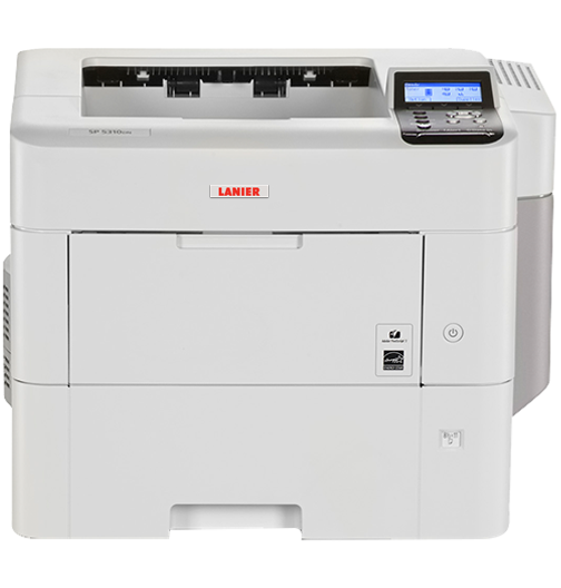 lanier SP 5310DN Black and White Laser Printer