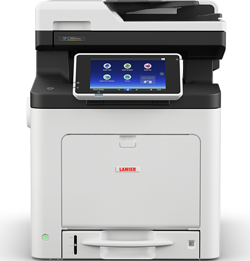 lanier SP C360SFNw Color LED Multifunction Printer