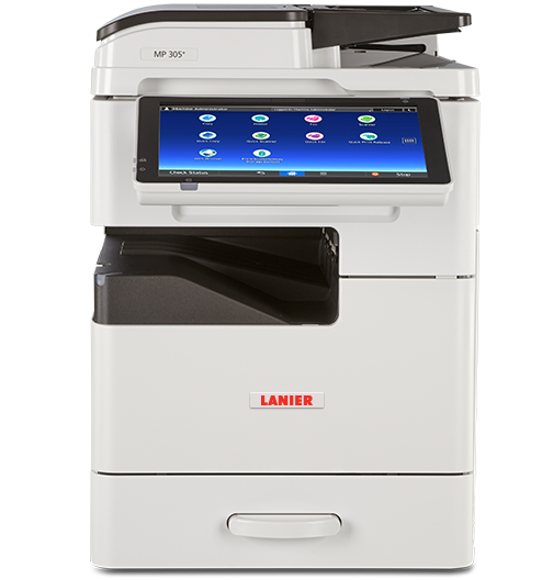 lanier MP 305 SPF Black and White Laser Multifunction Printer - 417434