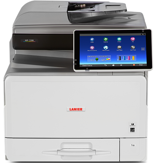 lanier MP C306 Color Laser Multifunction Printer