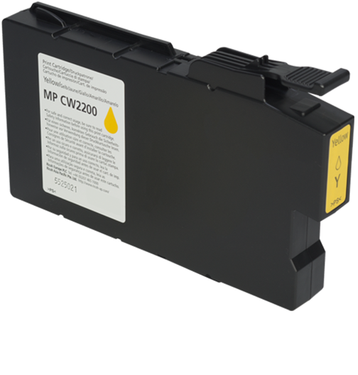 lanier MP CW2200 Yellow Ink Cartridge - 841723