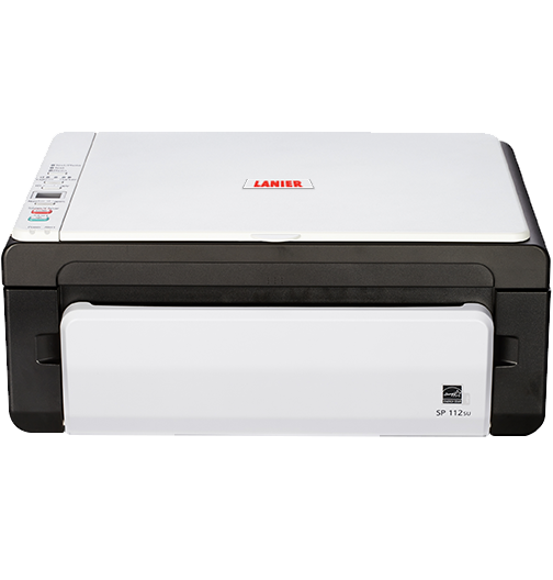 lanier SP 112SU Black and White Laser Multifunction Printer