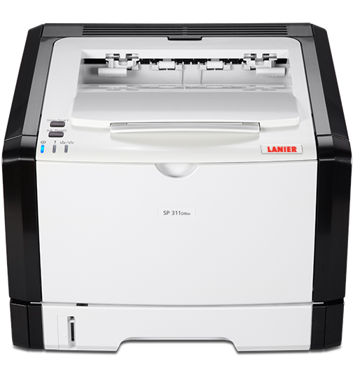 lanier SP 311DNw Black and White Laser Printer