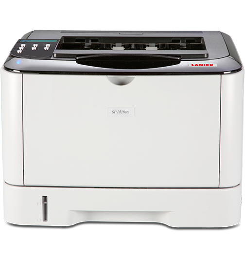 lanier SP 3510DN Black and White Laser Printer