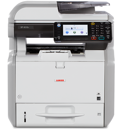 lanier SP 4510SF Black and White Multifunction Printer