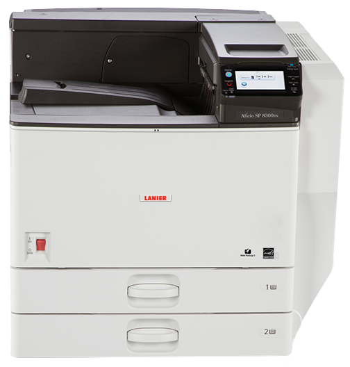 lanier SP 8300DN Black and White Laser Printer