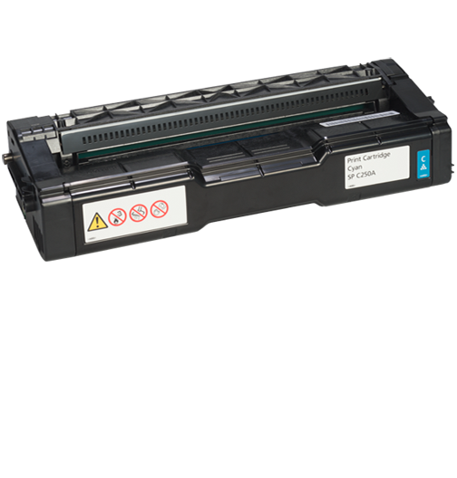 lanier SP C250A Cyan AIO Print Cartridge - 407540