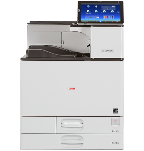lanier SP C840DN Color Laser Printer